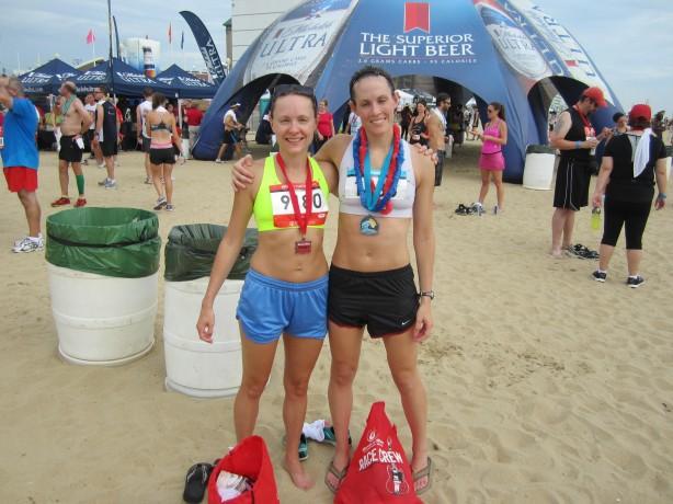 kara and me after the race 2