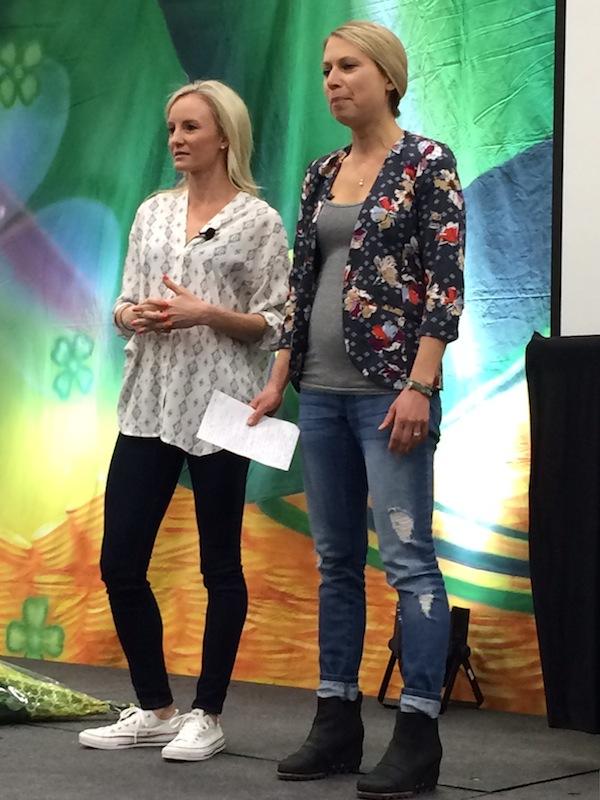 shalane and elyse speaking